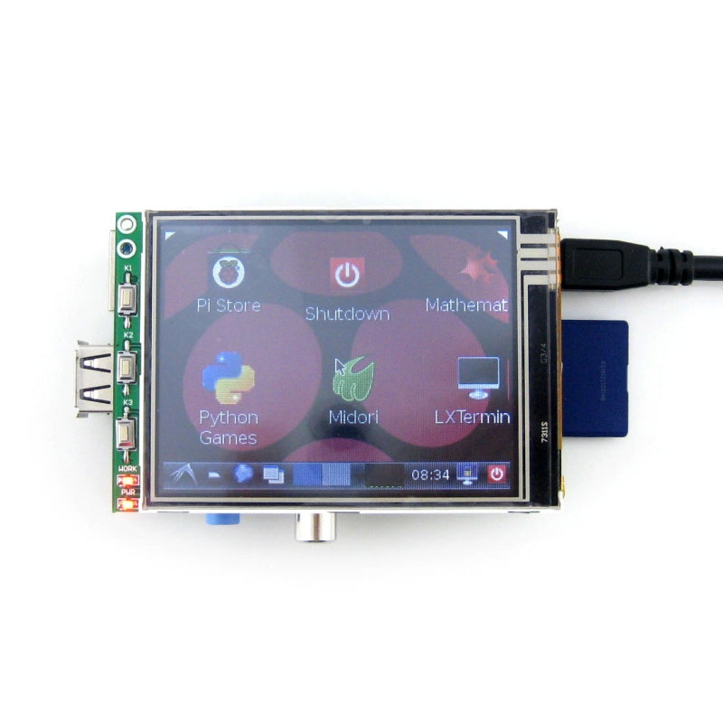 "3.2"" Touch Screen for Raspberry Pi"