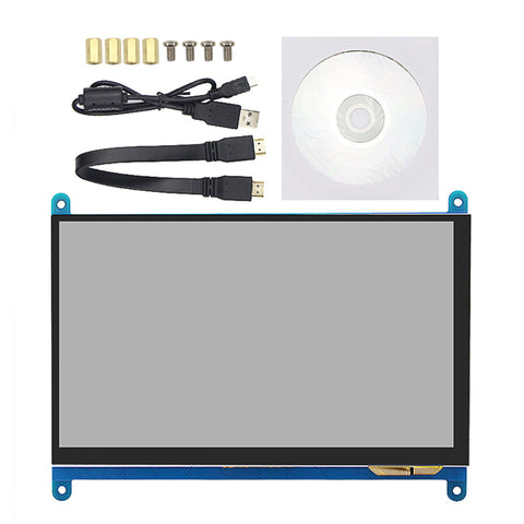 "Raspberry Pi 3 7"" LCD Touch Screen"