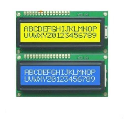 LCD Screen Yellow Backlight