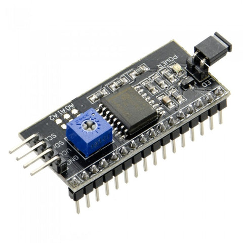 I2C 16x2 LCD Backpack Control