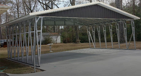 Metal Carports and Enclosures North Carolina