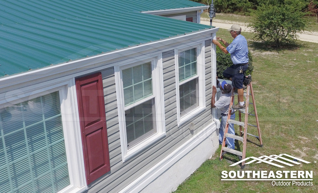 Add Gutter System Installation - Single Story Home