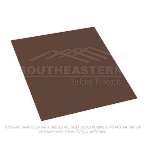10 Yr (29 gauge) FLAT METAL- Cocoa Brown
