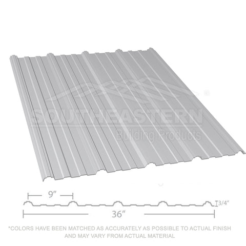 10 Year Metal Roofing (29 gauge) - ash gray