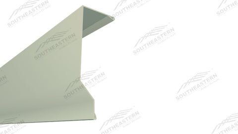 (40 Yr 26 Ga) 10ft EAVE TRIM - POST FRAME 14.007