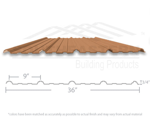 40 Year Metal Roofing - Copper Penny