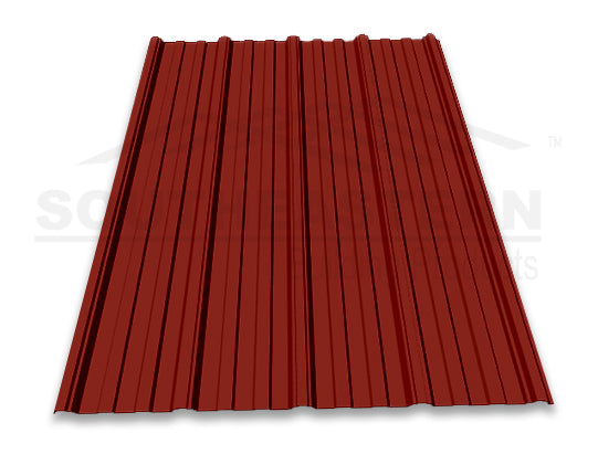 40 Yr Metal Roofing (29 gauge) - Barn Red