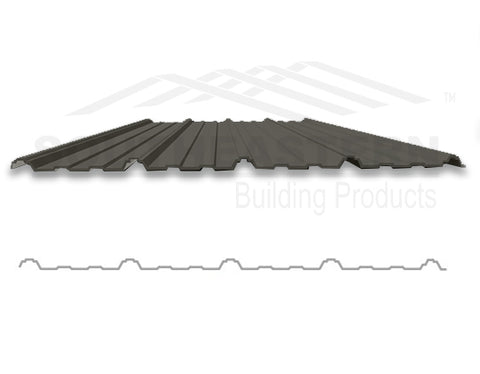 40 Year Metal Roofing - Burnished Slate