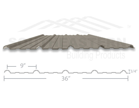 40 Year Metal Roofing - Clay