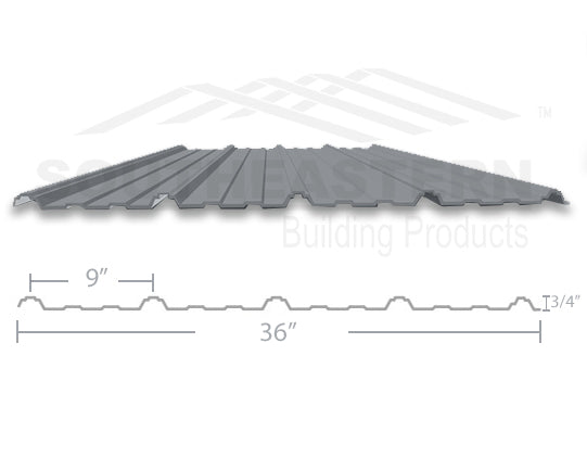 40 Year Metal Roofing - Zinc Gray
