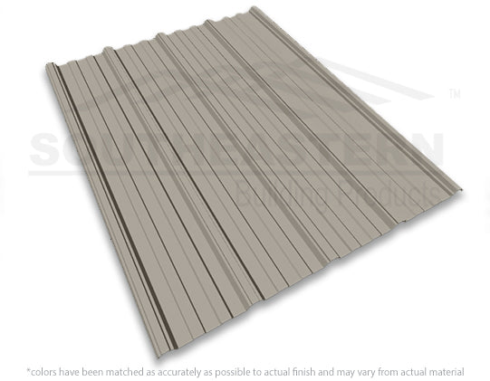40 Yr Metal Roofing (29 gauge) - Clay