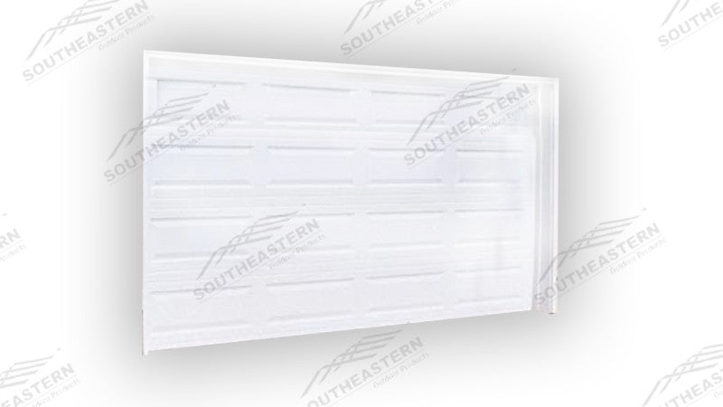 8x10 panel garage door southeastern building products for 15 x 8 garage door
