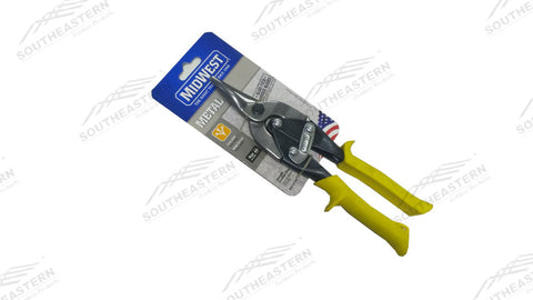 Yellow Handled Metal Snips (Cuts Straight)