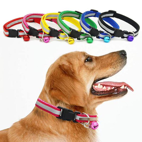 Dog Necklace Collar with Bell