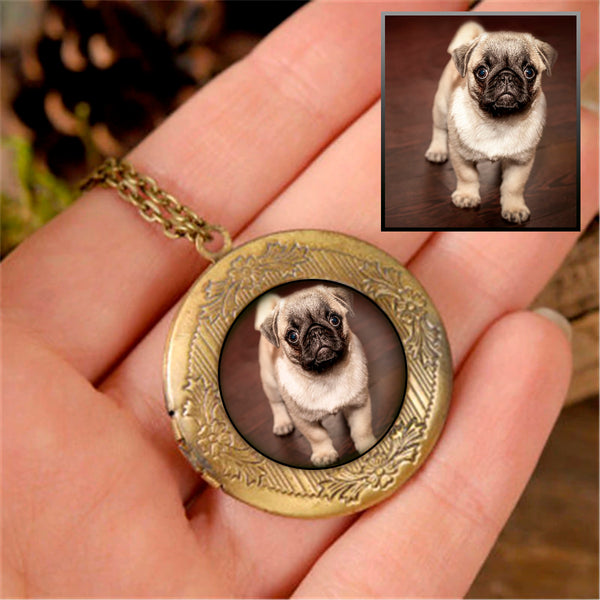 Custom Dog Lover Locket