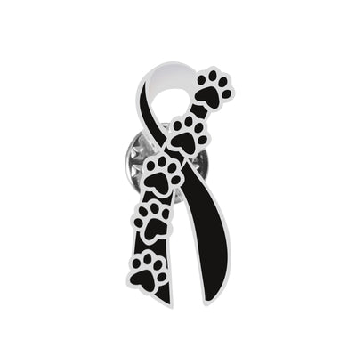 Premium Shelter Dog Pawprint Brooch