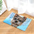 Border Terrier Dog Angel Door Mat