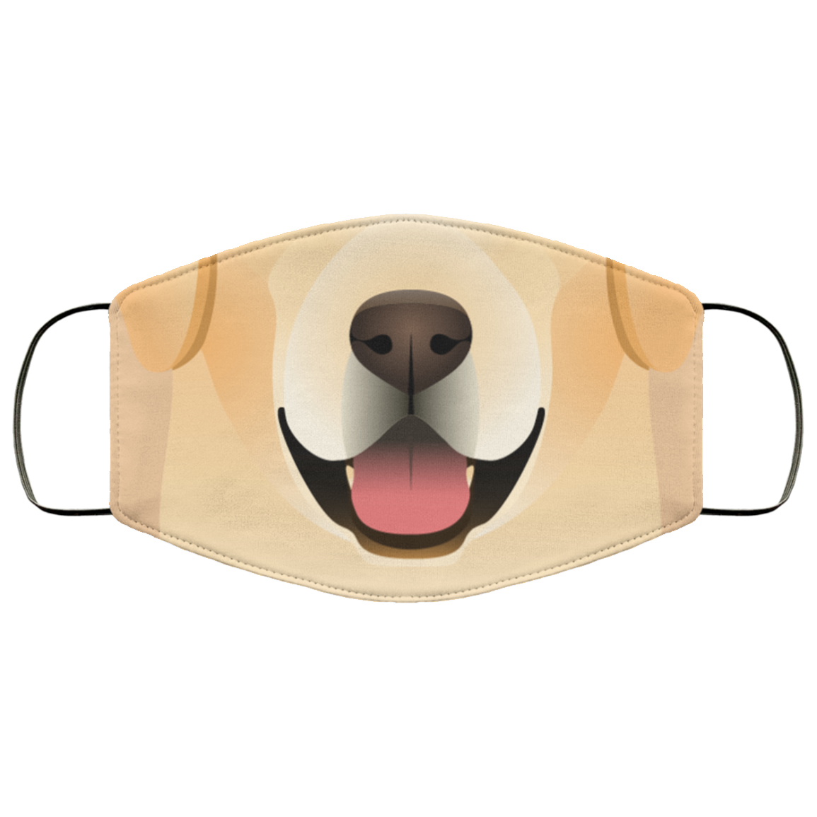 Happy Labrador Premium Face Mask