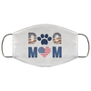 Patriotic Dog Mom Premium Face Mask