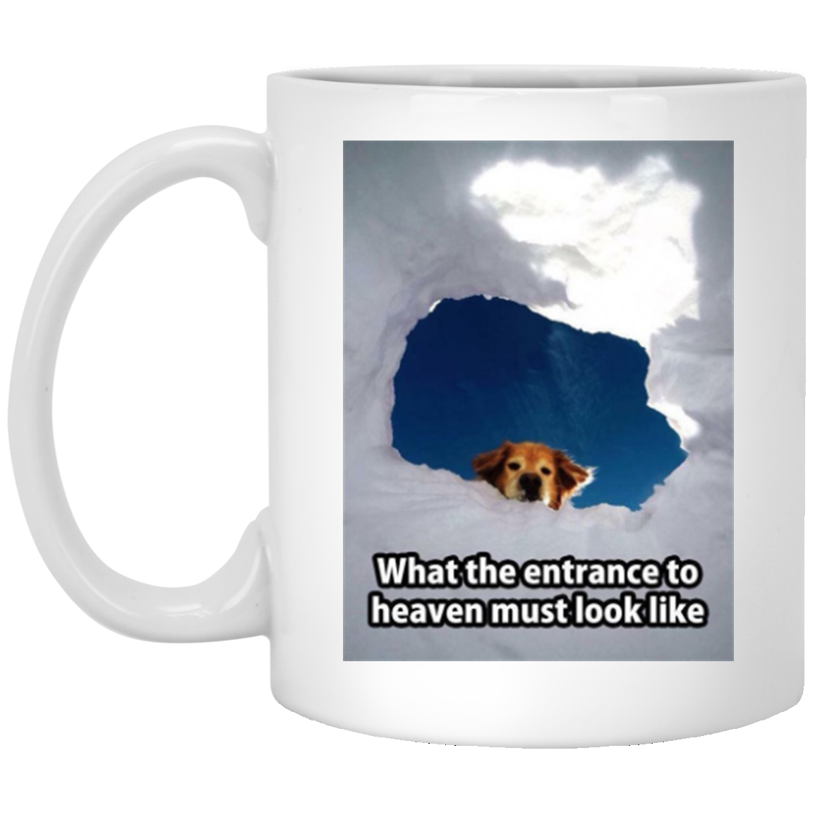 """Entrance To Heaven"" Mug"