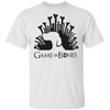 GAME OF BONES PUPPY KING MEN'S T-SHIRT