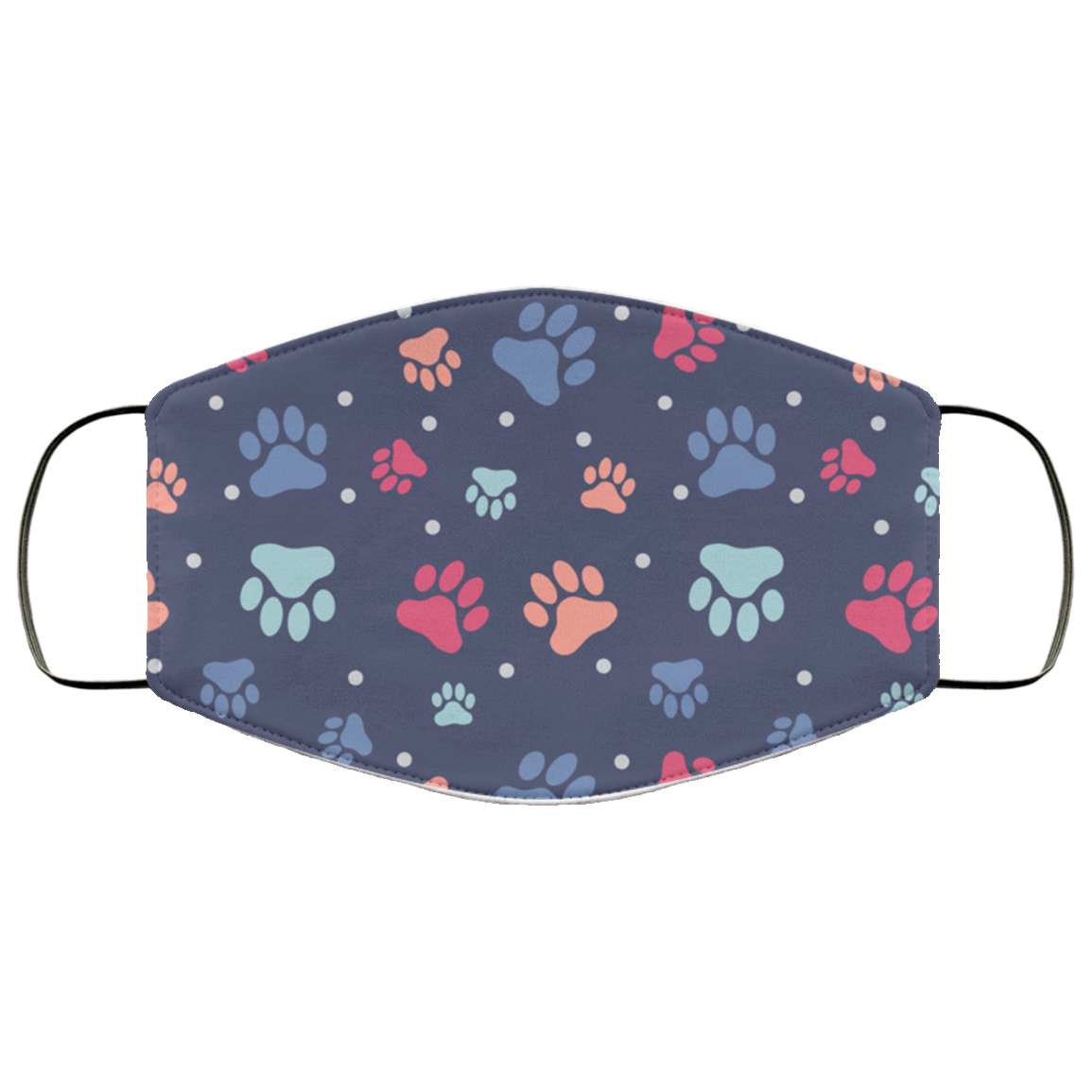 Colorful Paws Premium Face Mask