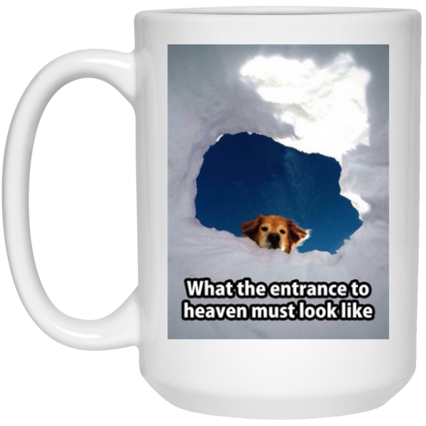 Quot Entrance To Heaven Quot Mug Dog Pawty