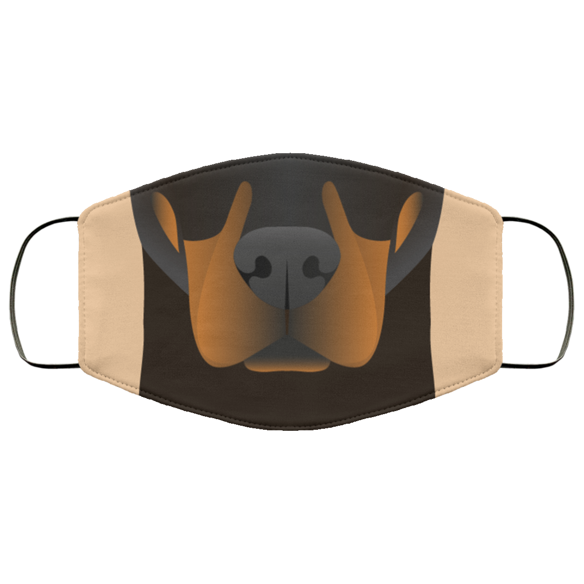 Doting Doberman Premium Face Mask