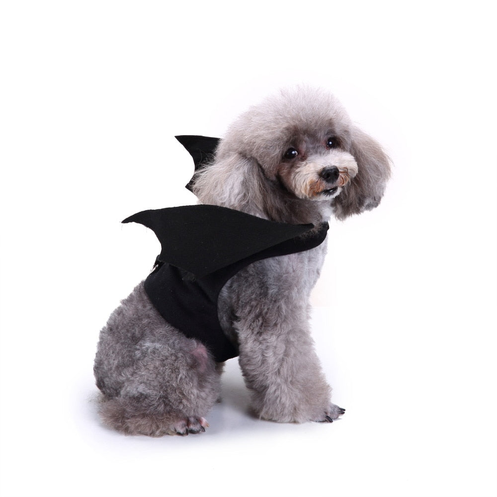 Vampire Bat Wings Dog Halloween Costume