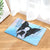 Boston Terrier Dog Angel Door Mat