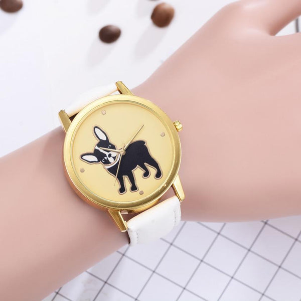 French Bulldog Women's Watch