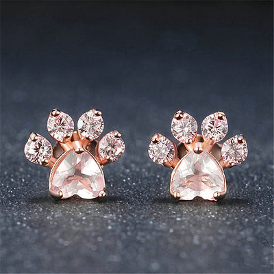 Chéreau & Sons Dog Lover Stud Earrings