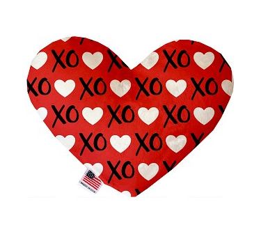 Red XOXO Valentines Dog Toy
