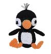 Clean Smile Cuties Penguin Organic  Dog Toy