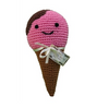 Clean Smile Cuties Scoop the Ice Cream Cone Dog Toy