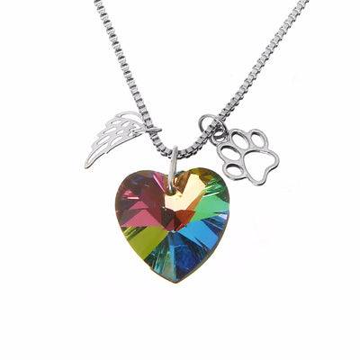 Premium Fallen Angel Dog Lover Pendant
