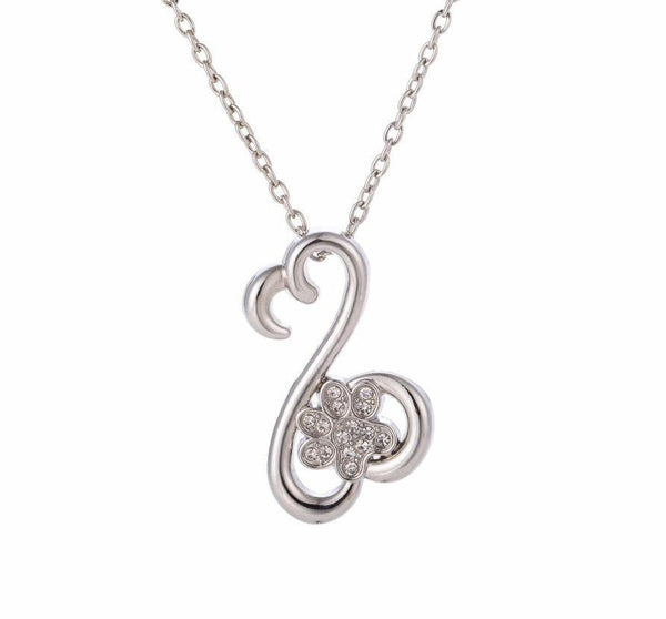 Luxe Infinite Love Paw Pendant