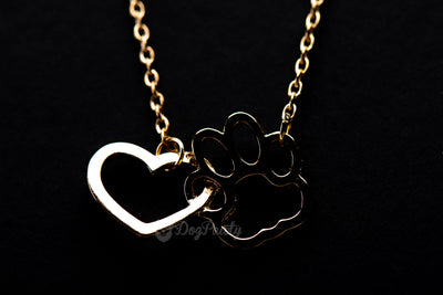 Forever Together Paw & Heart Pendant