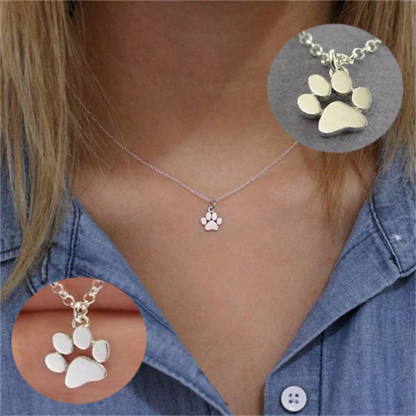 Dog Print Necklace