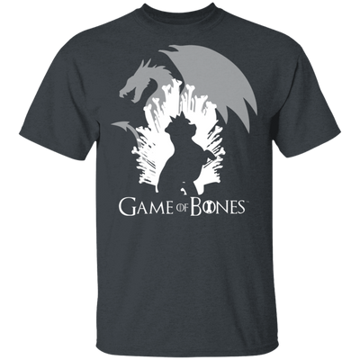 GAME OF BONES DOG AND DRAGON MEN'S T-SHIRT