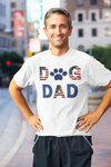 Patriotic Dog Dad Men's T-SHIRT