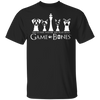 Game of Bones Win Or Play Dead Men's T-Shirt