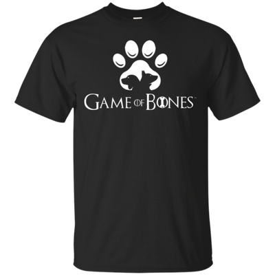 GAME OF BONES PUP PRINT T-SHIRT