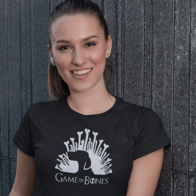 GAME OF BONES PUPPY KING WOMEN'S T-SHIRT