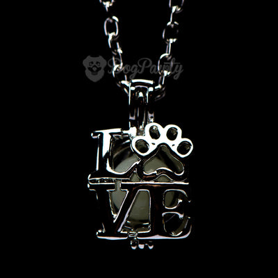 'Puppy Love' Glow-In-The-Dark Pendant
