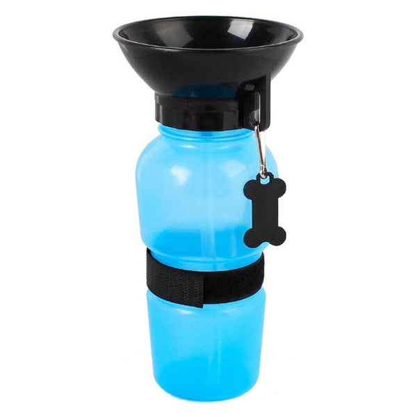 Squeezable Water Bottle and Doggy Bowl