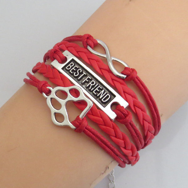 Best Friend Leather Bracelet