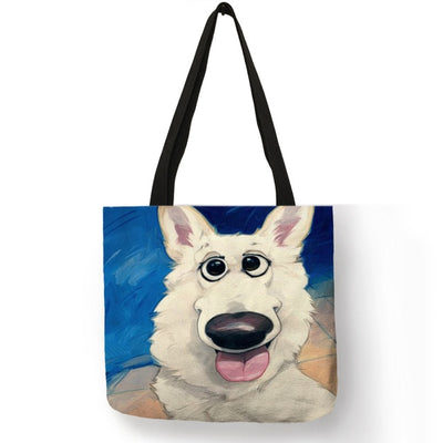 Artsy Dog Eco-Friendly Tote Bag