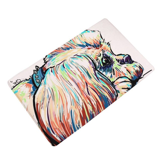Artful Doggy King Charles Spaniel Non-Slip Welcome Mat