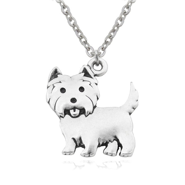 Westie Pendant Necklace